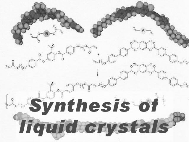 Synthesis of liquid crystals